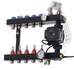 VTE In-line verdeler met flowmeters