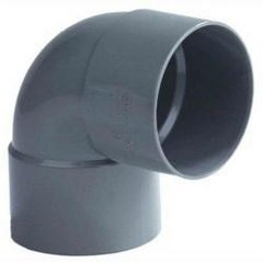PVC Bochten met 2 x lijmmof