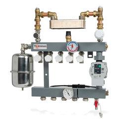 CV-Compleet vloerverwarming verdeler met gescheiden systeem
