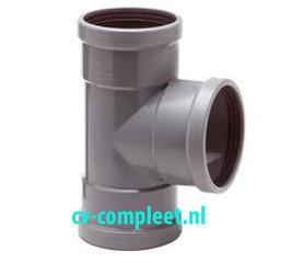 PVC manchet T Stuk 3 x mof 90°