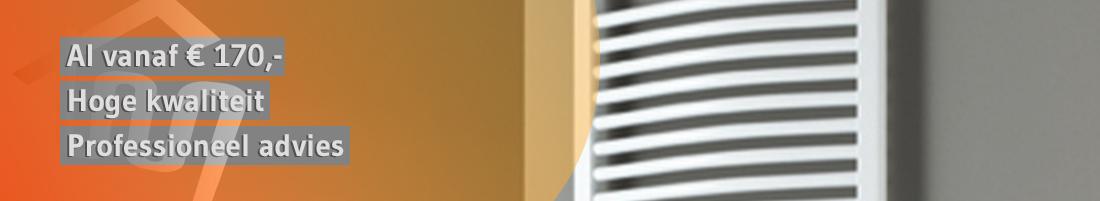 Plieger Palmyra badkamer radiator handdoek radiator