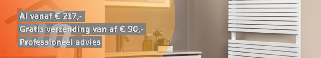 Zehnder badkamer radiator