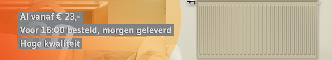 Henrad Stelrad radiatoren CV-Compleet