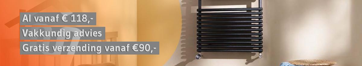 Plieger design radiatoren CV-Compleet