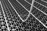 Rehau Varnova noppenplaat vloerisolatie 11/29 mm hoog (22,4 M2) plaat afm. 145 x 85 cm_