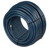 Uponor Uni pipe PLUS 25 x 2,5 mm in isolatie mantel 6 mm blauw 12 meter (restant stuk)_