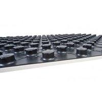 Noppenplaat vloerisolatie 140 x 80 cm 10/30 mm hoogte - doos á 12 stuks (13,4 M2)