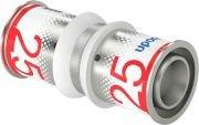 Uponor S-Press perskoppeling, sok  25 x 25 mm recht