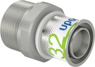 Uponor S-Press Plus overgang perskoppeling, verlopen 32 mm x 11/4