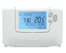 Honeywell Chronotherm CMT907G klokthermostaat aan/uit regeling