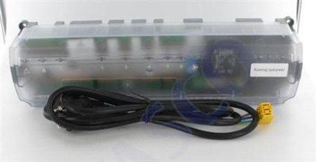 Honeywell HCE20M 1003 zone vloerverwarming regelaar bedraad - 5(8) zones 230V IP30