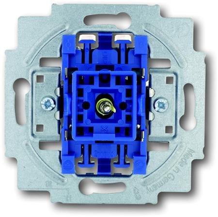 Busch-Jaeger schakelaar 2P + controle lampje inbouw (BJ 2000/2UK)