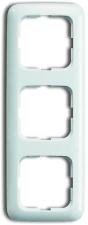 Busch-Jaege - Afdekraam 3 voudig - kleur r-alpin wit - BJ 2513-214