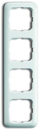 Busch-Jaege - Afdekraam 4 voudig - kleur r-alpin wit - BJ 2514-214
