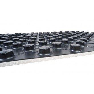 Noppenplaat vloerisolatie 140 x 80 cm 20/40 mm hoog - Doos ‡ 8 stuks (8 M2)