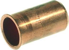 Koper steunhuls 12 mm voor zacht koperenbuis