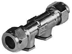 Watts Keerklep 22 mm knel met aftapgelegenheid