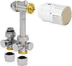 Jaga Aansluitset 104 voor verwarmen, H-Ventiel 594.525 voor leidingen uit de vloer