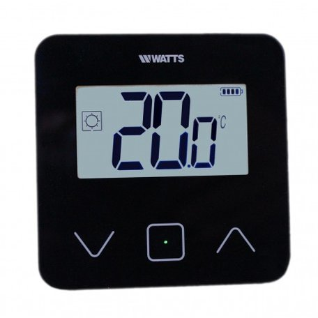 Watts Vision Digital Touch thermostaat BT-D03 RF 868MHZ - Zwart