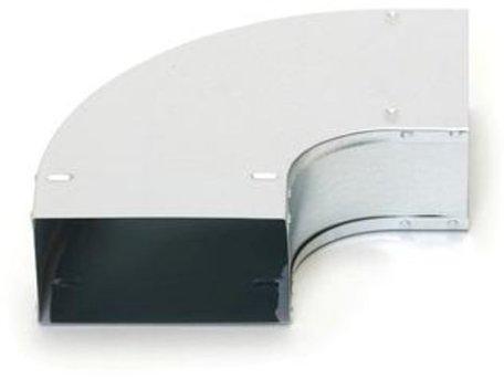 Ventilatie instortbocht 170 x70 mm 90 graden