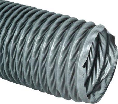 Flexibele ventilatie slang polyester 125 mm VP Super, 10 meter