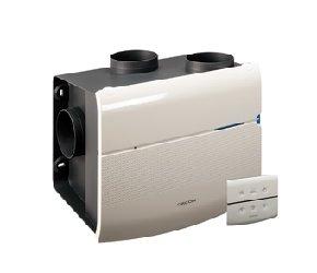 Woonhuisventilator Orcon MSV-15RHBP met vochtsensor + afstand bediening + perilexsteker