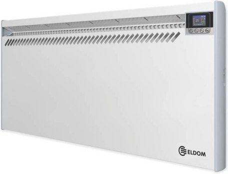 ELDOM 2500W convector 230V met digitale thermostaat en open raam detectie