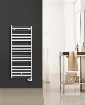 Solar Plus elektrische handdoekradiator 1500 x 500 mm (hxb) 700 watt - kleur Ral 9016
