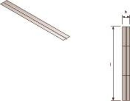 Uponor Siccus  aluminium warmtegeleiding lamel 48 stuks per doos 1,2 meter lang