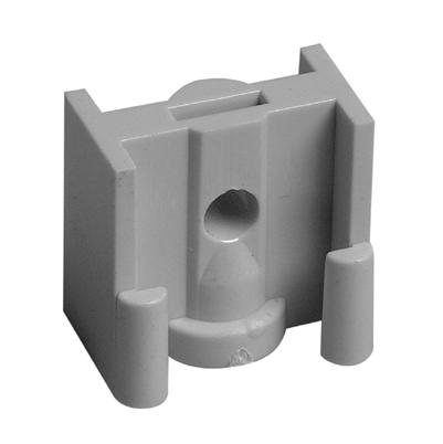 PVC Klemnok TBV Model B-beugel M8 ABS