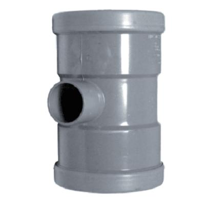 PVC manchet T Stuk 125 x 50 mm 90¡ 3 x mof