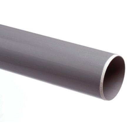 Pvc- afvoerbuis 40 x 3,0 mm SN4  lengte = 1 meter