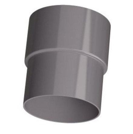 PVC Hemelwaterafvoer verbinding-mof 80 mm verjong (pas in de buis)
