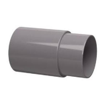 PVC Hemelwaterafvoer verbinding mof/spie verlengd 70 mm (schuifsok)