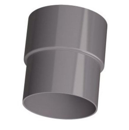 PVC Hemelwaterafvoer verloopstuk 80 x 75 mm mof/spie
