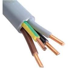 XMVK Kabel 4 x 2,5 mm - rol á 100 meter - diameter 9,9 mm