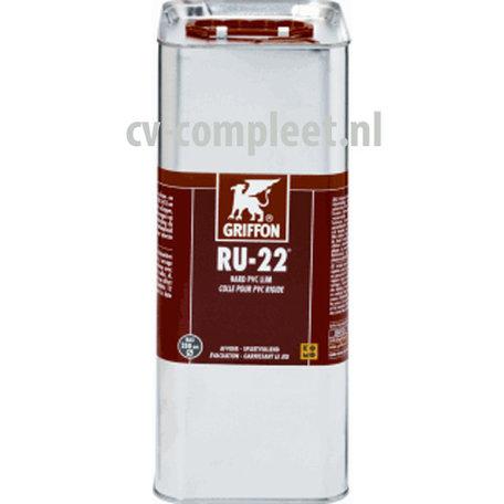 RU-22 pvc afvoerlijm, bus á 5 liter