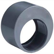 PVC Verloopring excentrisch inwendig x uitwendig lijm 125 x 50 mm