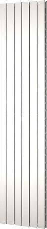 Plieger Cavallino Retto 1800 x 450 mm (910 watt) kleur mat wit middenonder aansluiting