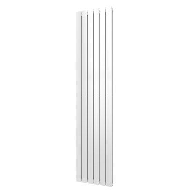 Plieger Cavallino Retto 1800 x 298 mm (614 watt) kleur mat wit middenonder aansluiting