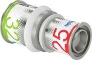 Uponor S-Press Plus perskoppeling, verloopsok 25 x 32 mm recht 1070556