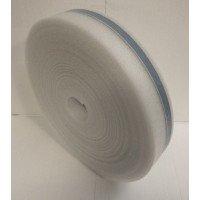 Rand isolatie 150 mm hoog x 5 mm dik met plakrug - rol á 50 meter