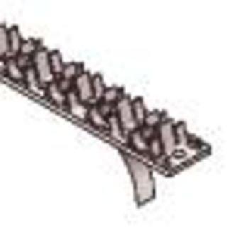 Uponor Fix, buisklem, kunststof, Ø14-20mm, zwart - Lengte 1 meter