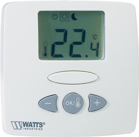 Watts  kamerthermostaat Basic LCD 24 Volt (900002947)