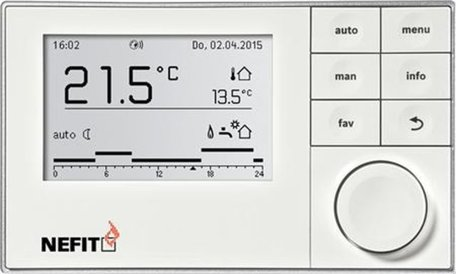Nefit Moduline 3000 modulerende klokthermostaat