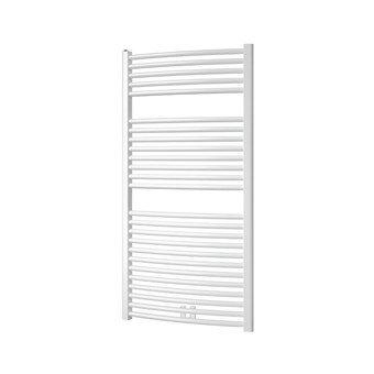 Plieger Palmyra design handdoek radiator 1175 x 600 kleur mat wit (681 watt)