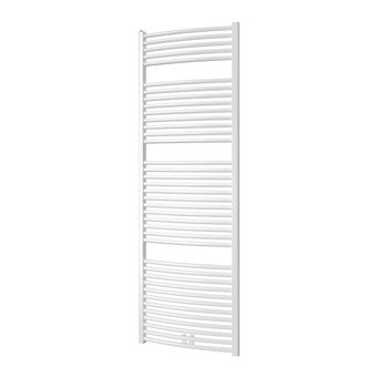 Plieger Palmyra design handdoek radiator 1775 x 600 kleur wit (1046 watt)