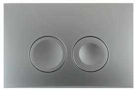 GEBERIT Delta 21 bedieningspaneel twee knops kleur MATCHROOM