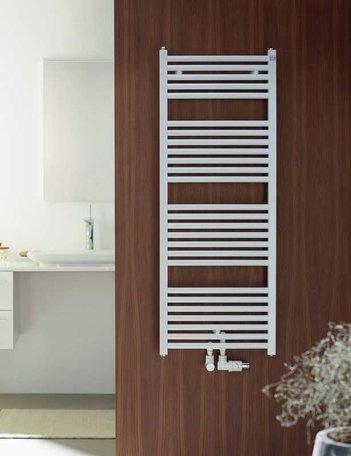 Zehnder Zeno handdoekradiator 1184 x 500 (405 watt)  kleur wit Ral 9016