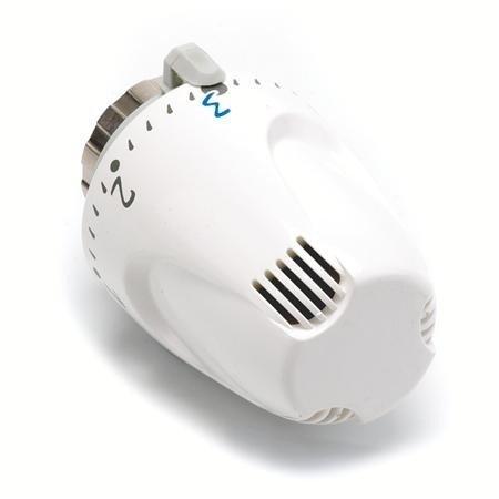 Comap W5 Thermostaatknop  M28 x 1,5 - kleur wit - met wasvoeler